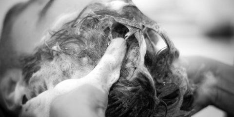 頭の正しい洗い方